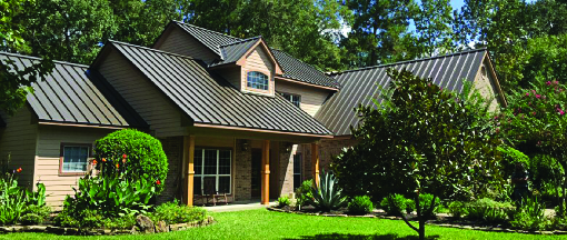 Quality metal roofing for a home in Nashville, TN.