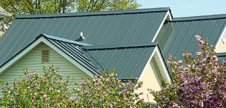 Metal roofing perfect for the Tennessee weather
