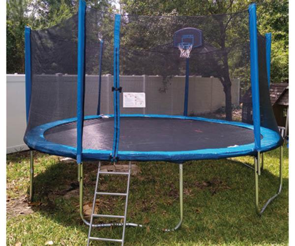 trampoline assembly jacksonville