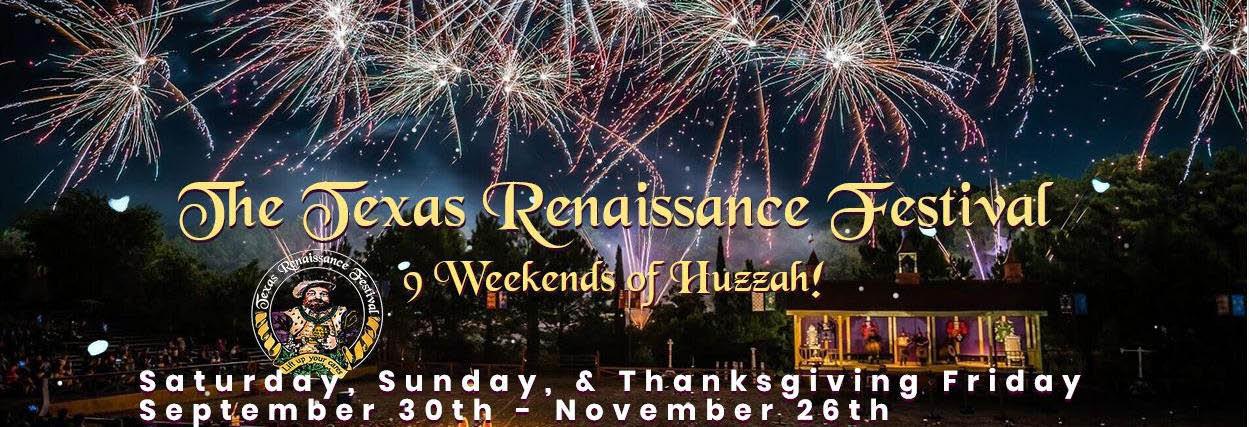 The Texas Renaissance Festival banner