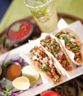 Get a delicious taco at Cafe Sabor Mexican Restaurant in Layton, Davis County, Utah.