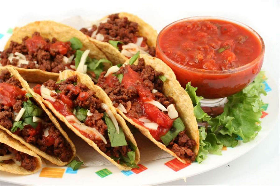 Beef tacos, fish tacos near Woodbridge