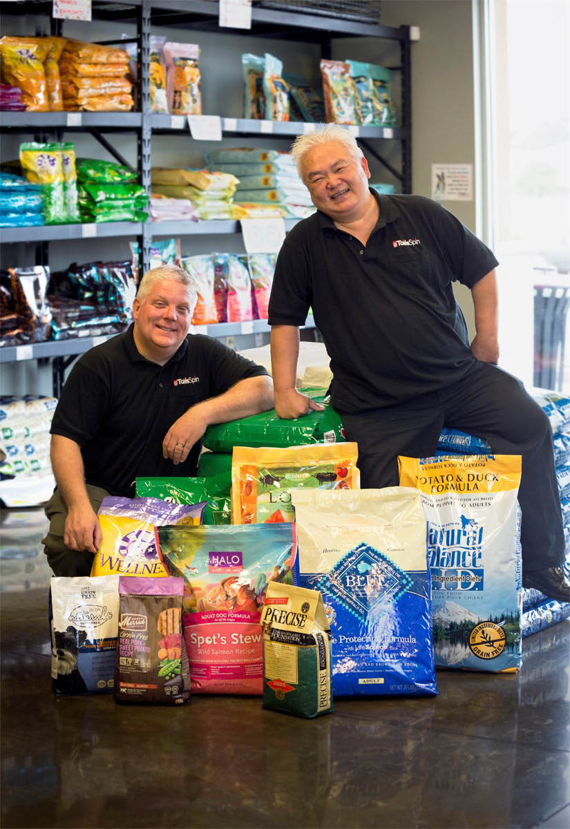 Best dog food at TailsSpin pet store in Pooler, GA