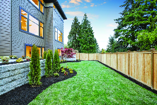 Perimeter fencing for privacy