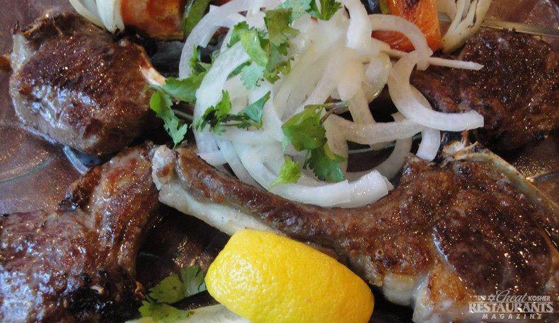Lamb kebab and lamb rib specials near Rockefeller Center