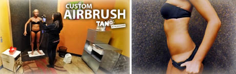 At Tan on the Boulevard in Aurora, Highlands Ranch, Centennial and Parker, Colorado we have Custom Airbrush Tanning