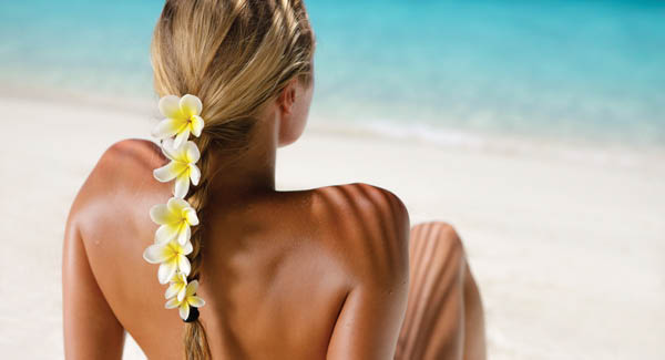 Get tan without harmful UV rays