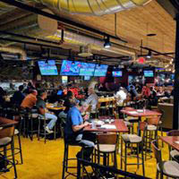 Lunch, dinner and craft beer - flat screen tv's at the bar