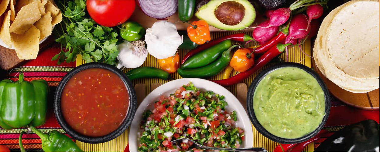 Taqueria uses only the freshest ingredients.