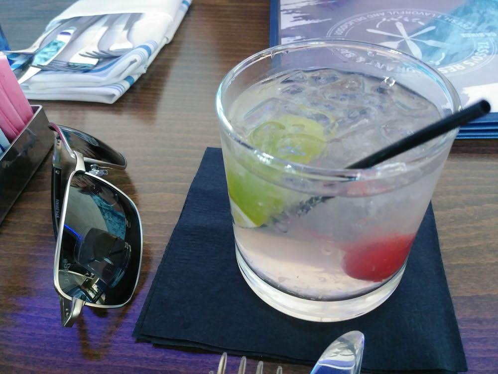 Cocktail, drink menu