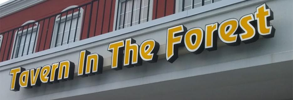 Tavern in the Forest in Myrtle Beach, SC banner