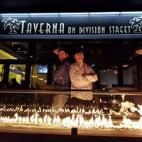 Taverna on Division Street; pizza; seafood; Mediterranean; Italian