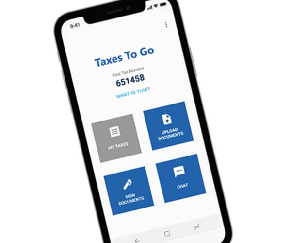 Download Taxes To Go mobile app