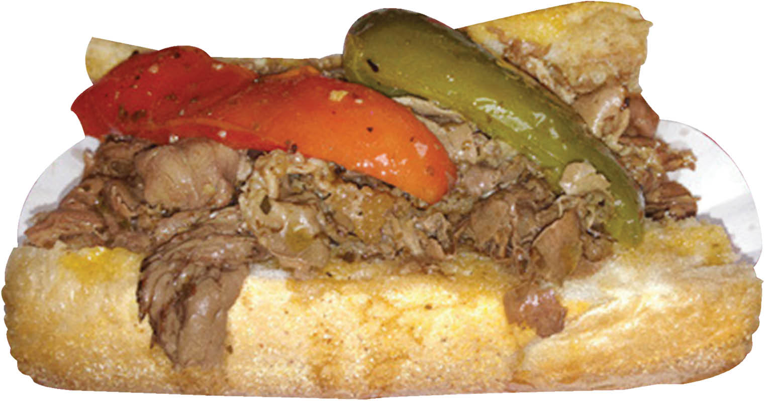 Teddy's Red Hots Beef smothered in goodness in Downers Grove