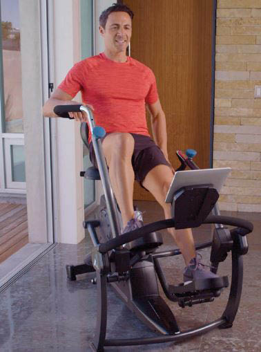 FreeStep Recumbent Cross Trainer from Teeter - work out with less pain on your joints