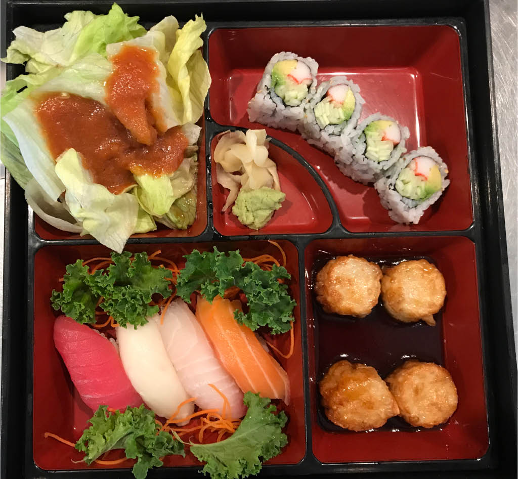 Bento box near Orlando International Airport