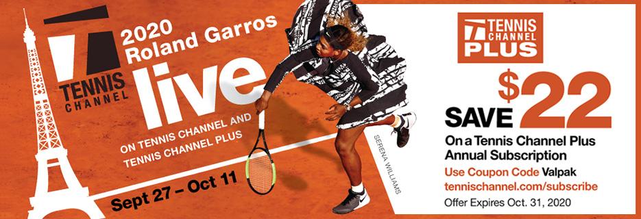 Tennis Channel Banner