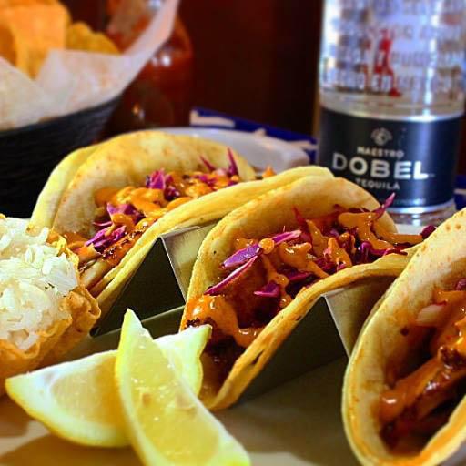 Tequila fish tacos, Quesadillas, Burritos, Nachos, enchiladas, fajitas, taquitos, flautas, chimichanga, seafood, carne asada, steaks, vegetarian dishes & more.