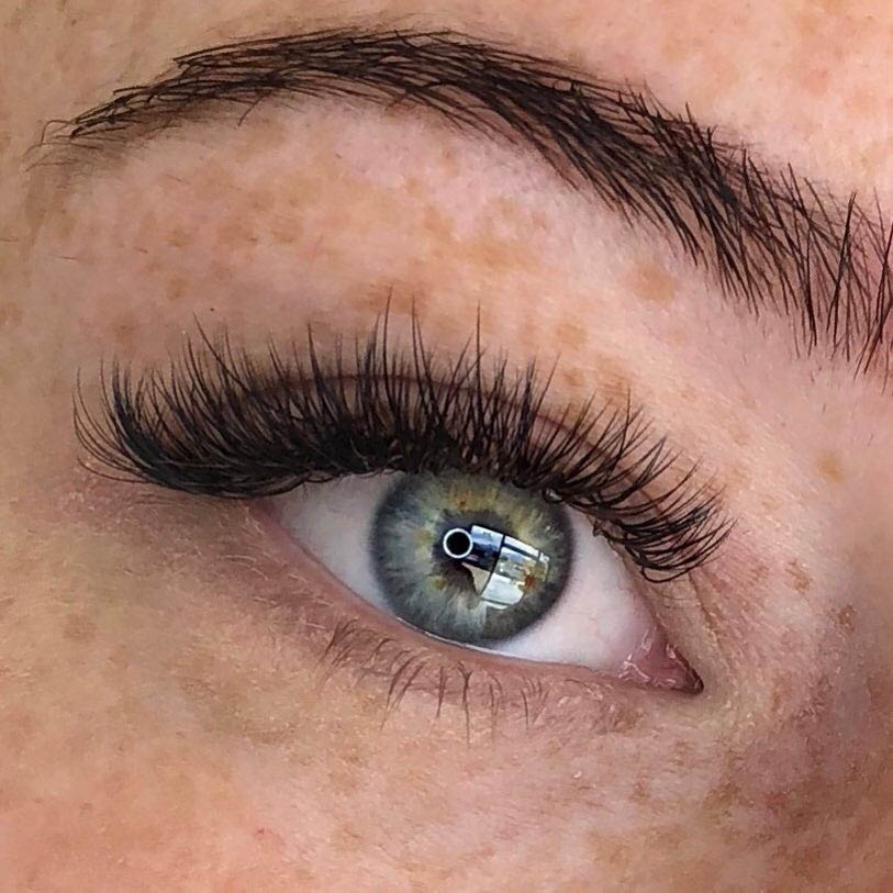 Natural Looking Textured Lash Extensions at Truebeauty Forever Kaysville