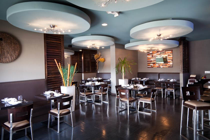 Thai Talay Westchester restaurant interior