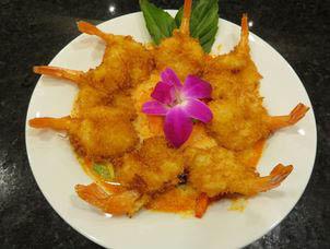 Thai food - fried shrimp
