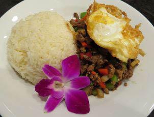 Savory Thai cuisine dishes