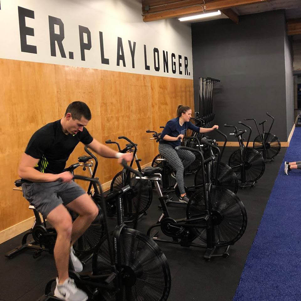 The Armory gym in Bothell, WA - cardio equipment - cardio classes - stationary bikes - Bothell fitness clubs near me - Bothell health clubs near me - Bothell gyms near me - fitness club coupons