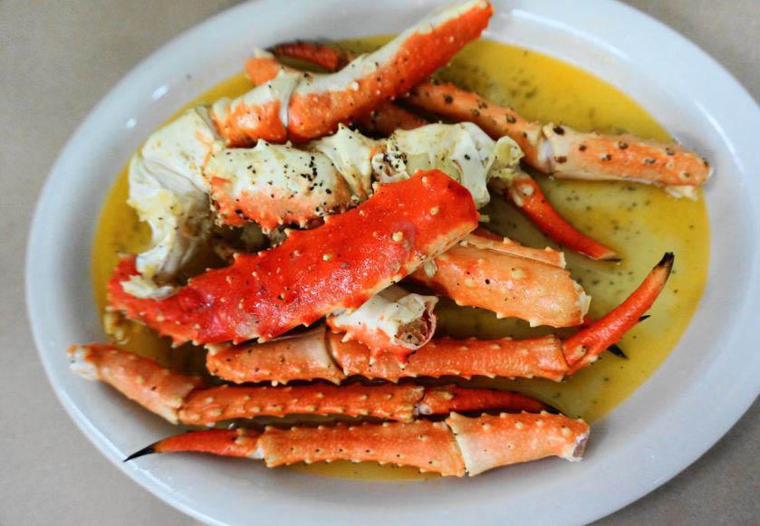 Crab legs - The Cajun Crawfish seafood restaurant - Everett, Washington
