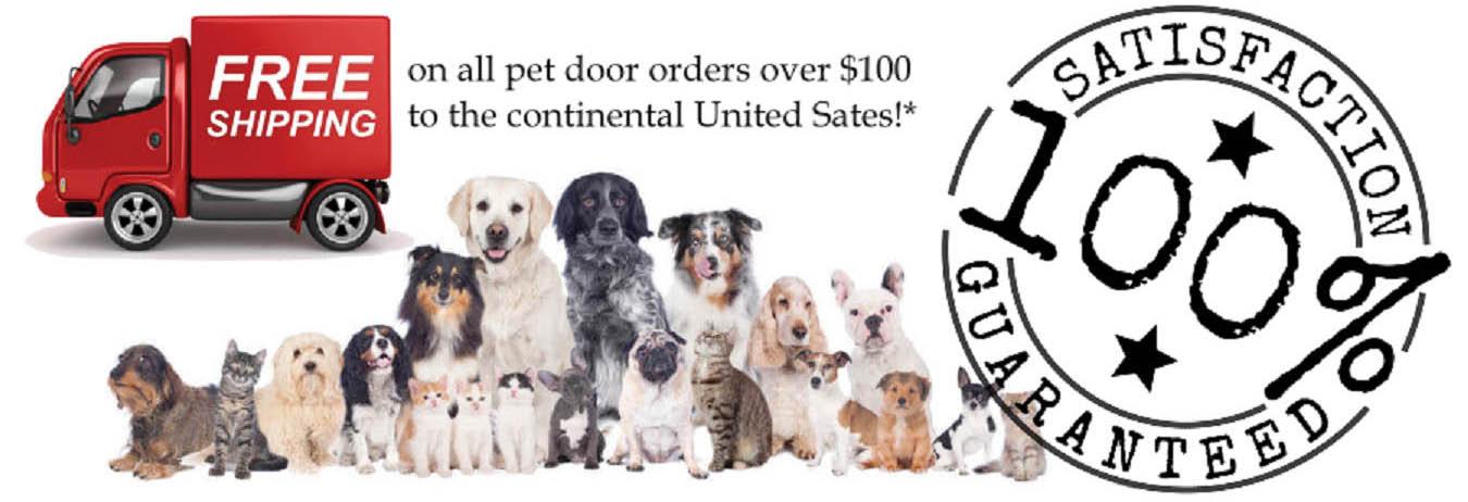 Bon The Pet Door Store Main Banner Image