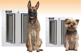 The Pet Door Store Offers A Large Variety Of Pet Doors For Dogs And Cats