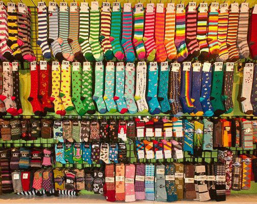 Seattle's largest collection of socks - The Sock Monster - Wallingford neighborhood