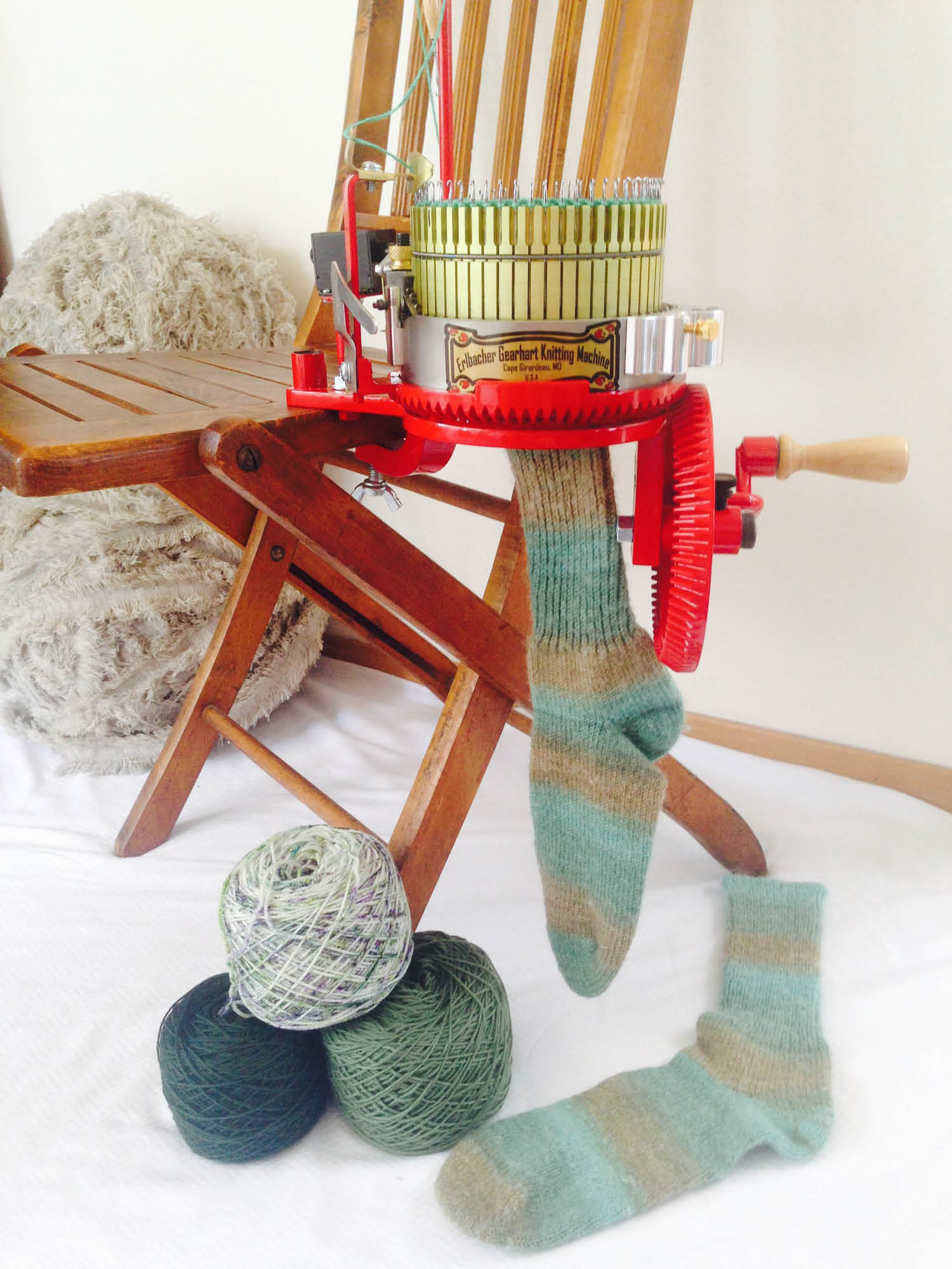 Circular sock machine to knit your own socks - The Sock Peddlers - Lakewood, WA