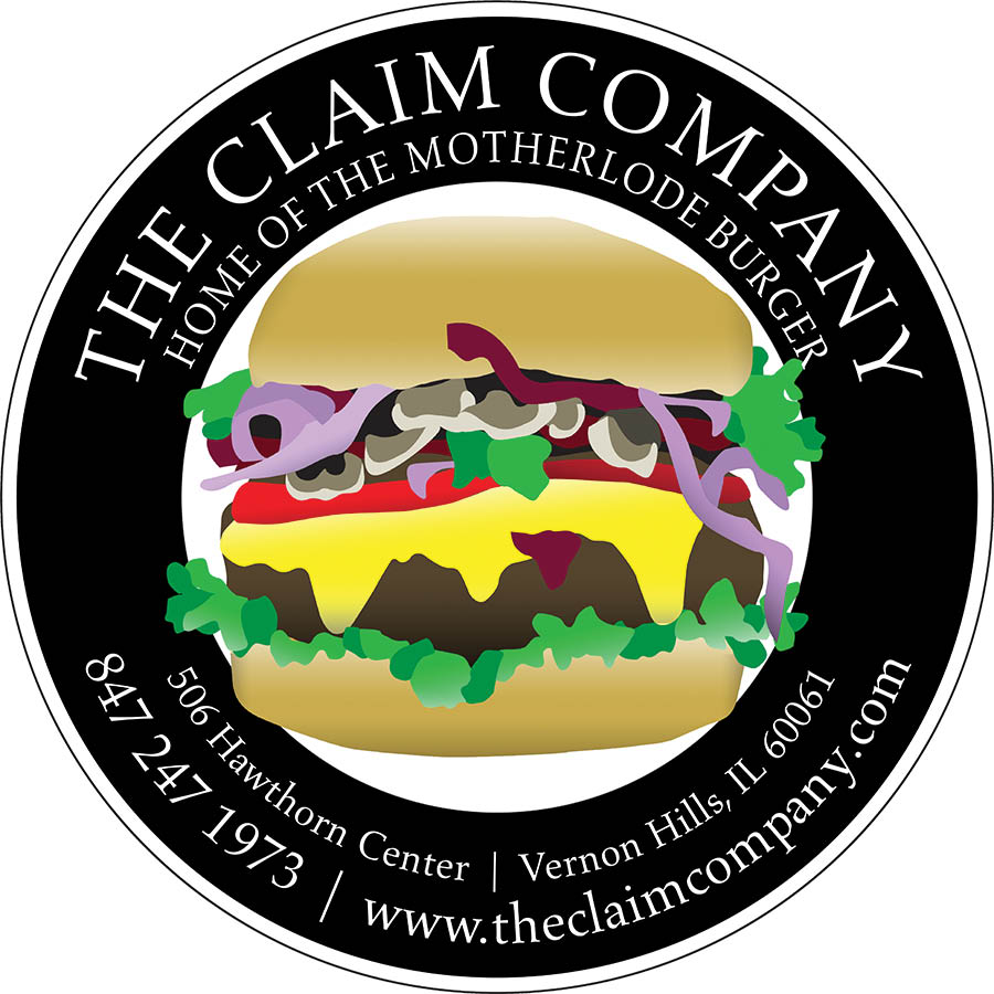 Visit The Claim Company in Vernon Hills, home of the Motherlode build-your-own gourmet burger