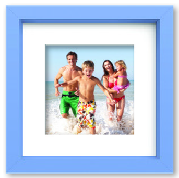 Family vacation photos framed for a lifetime memory