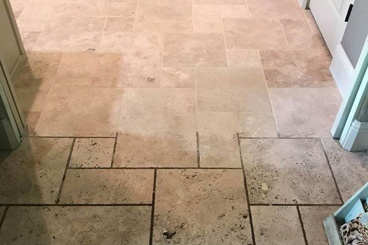 grout recoloring in California