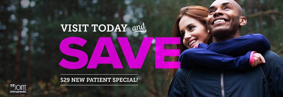 Visit The Joint Chiropractic in Acworth, GA and save with $29 new patient special