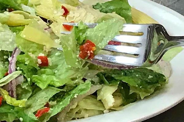 Crispy Garden Caesar Salad