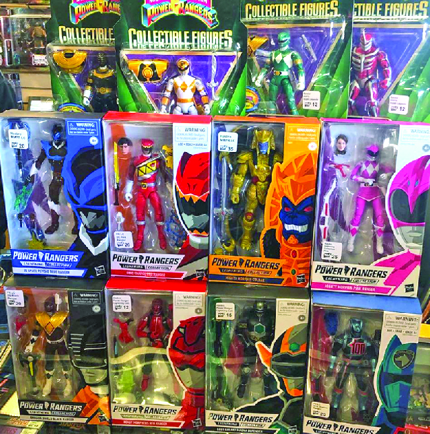 the toy department power rangers fairfield ohio