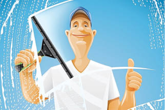 Thomas Window Cleaning can wash windows to clean and clear again