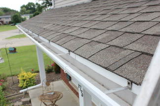 Residential and commercial gutter cleaning service by Thomas Window Cleaning