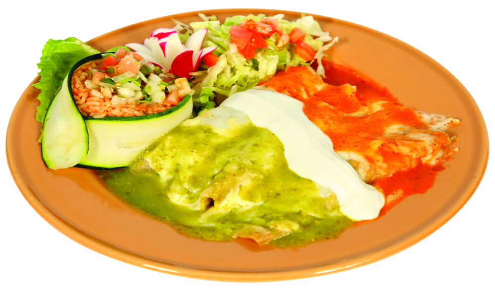 Delicious Mexican cuisine served at Tia Wanna's.