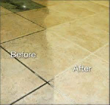 Tile Cleaning Technician Dirty Clean Cleaner