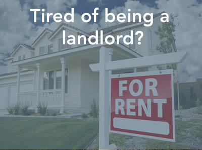 Tired of being a landlord? Contact Chris Barrett, realtor - University Place, WA - real estate agent