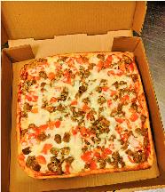 Tito's square pizza in Martinsburg, WV