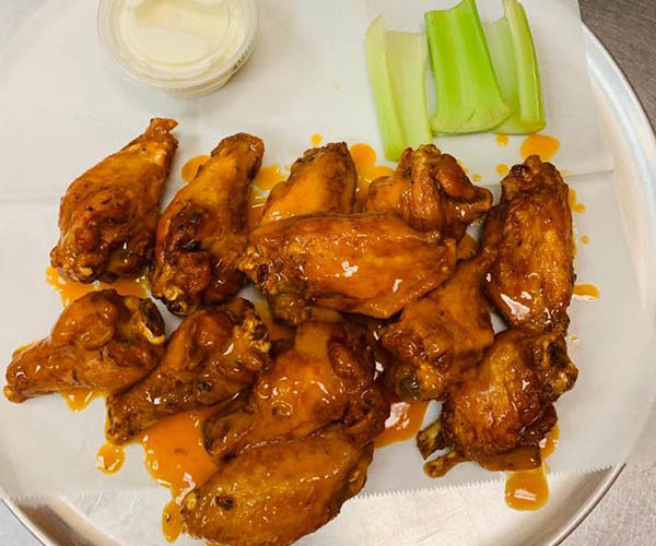 Best sauced wings in Martinsburg at Tito's Pizza