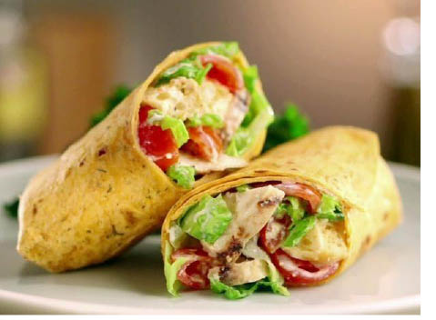 Wraps available at TJ's Pizzeria Cafe in Franklin NJ & Sussex NJ
