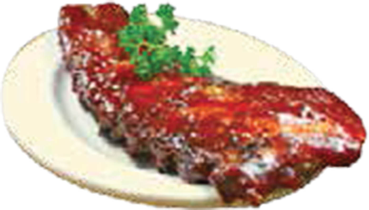 Picture of rib dinner at Toarmina's of Taylor, MI