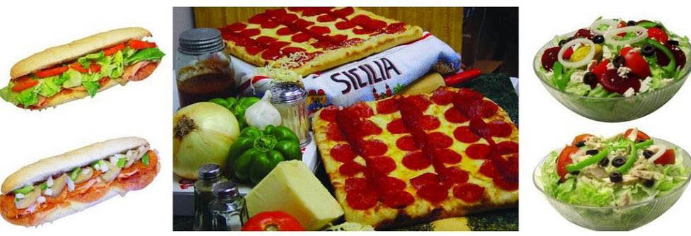 photo of pizza, subs and salads from Toarmina's Pizza in Canton, Livonia and Westland, MI