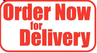 order now for delivery logo for Toarmina's Pizza