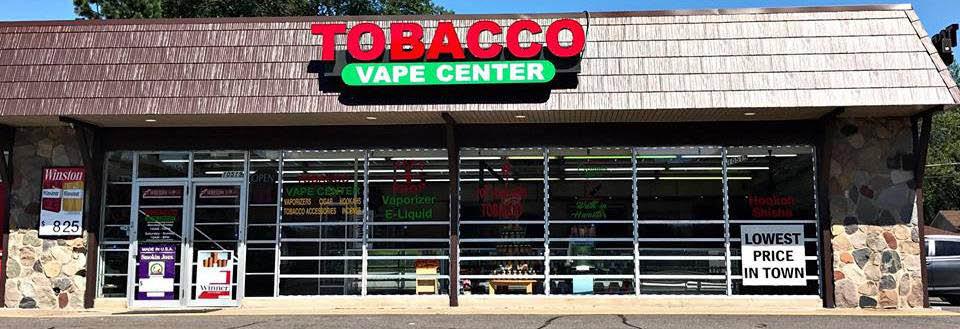 Tobacco Vape Center banner
